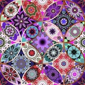 Moroccan bazaar | purple