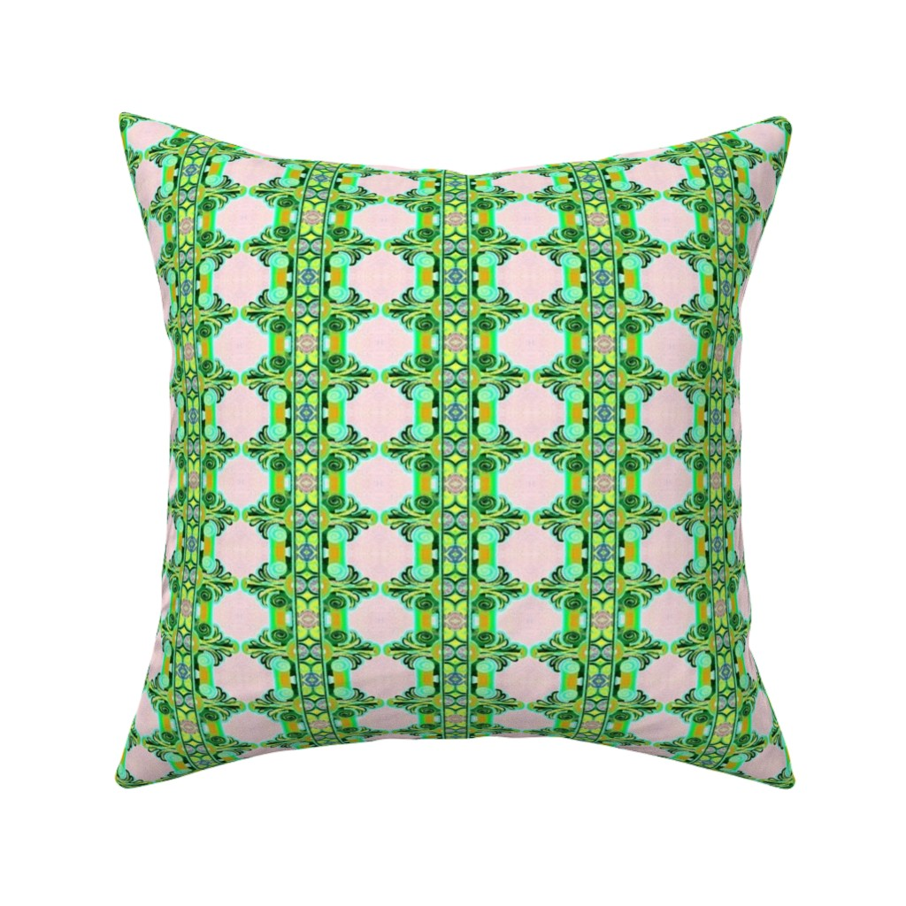 Catalan Throw Pillow featuring 16eme siecle 159 by hypersphere