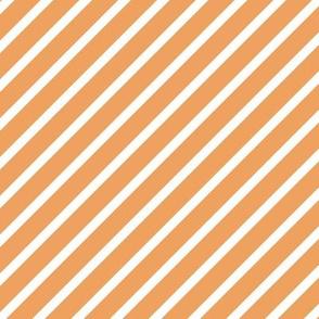 Diagonal Stripes, peach