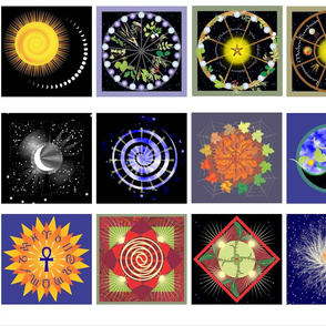 Time & Space 5-Inch Squares
