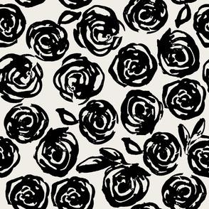 Roses are Black & White