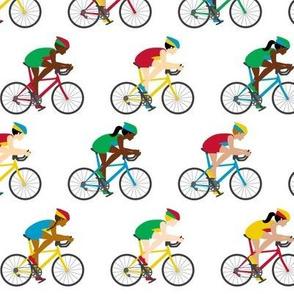 Biking around the world