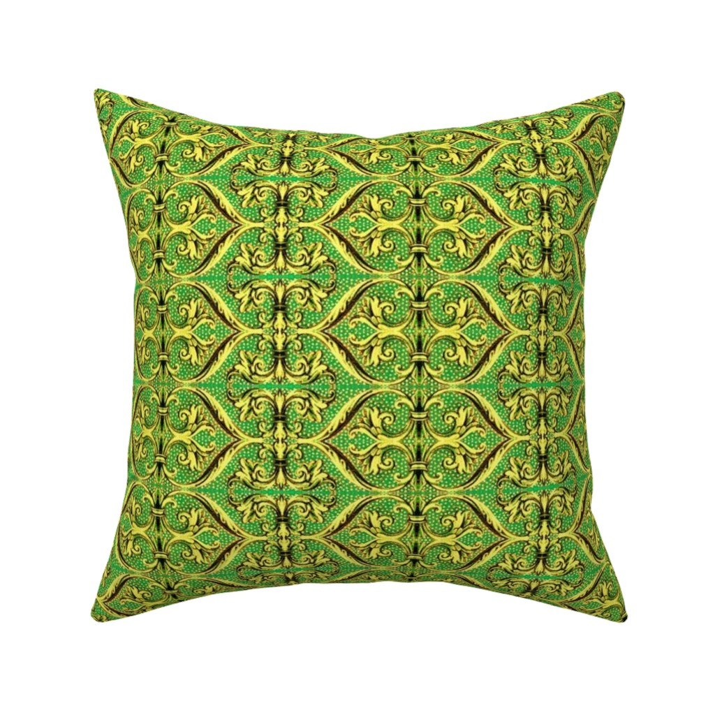 Catalan Throw Pillow featuring 16eme siecle 168 by hypersphere
