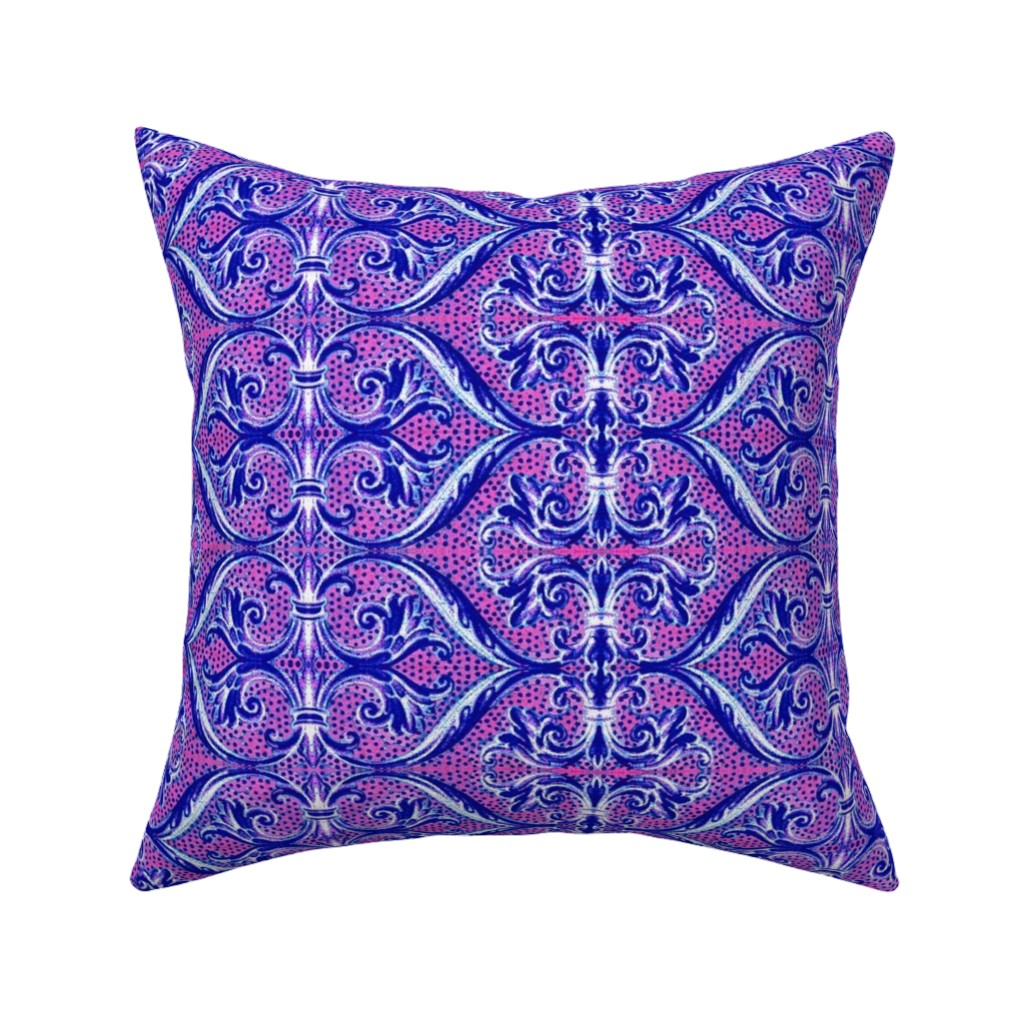 Catalan Throw Pillow featuring 16eme siecle 169 by hypersphere