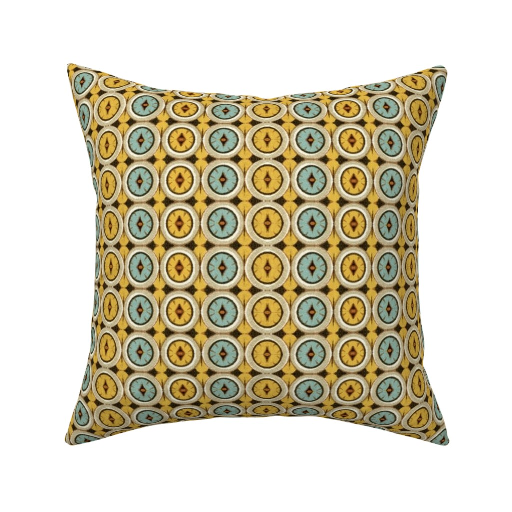 Catalan Throw Pillow featuring 16eme siecle 170 by hypersphere