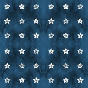 Star Trifecta Nautical Blue
