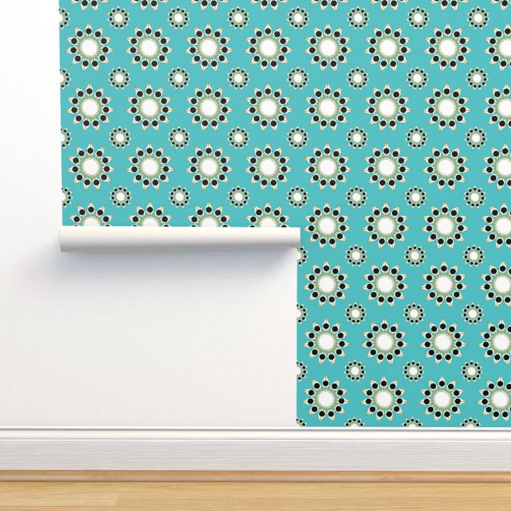 Isobar Durable Wallpaper featuring 40 Day Writer Pen Wheels by brandymiller