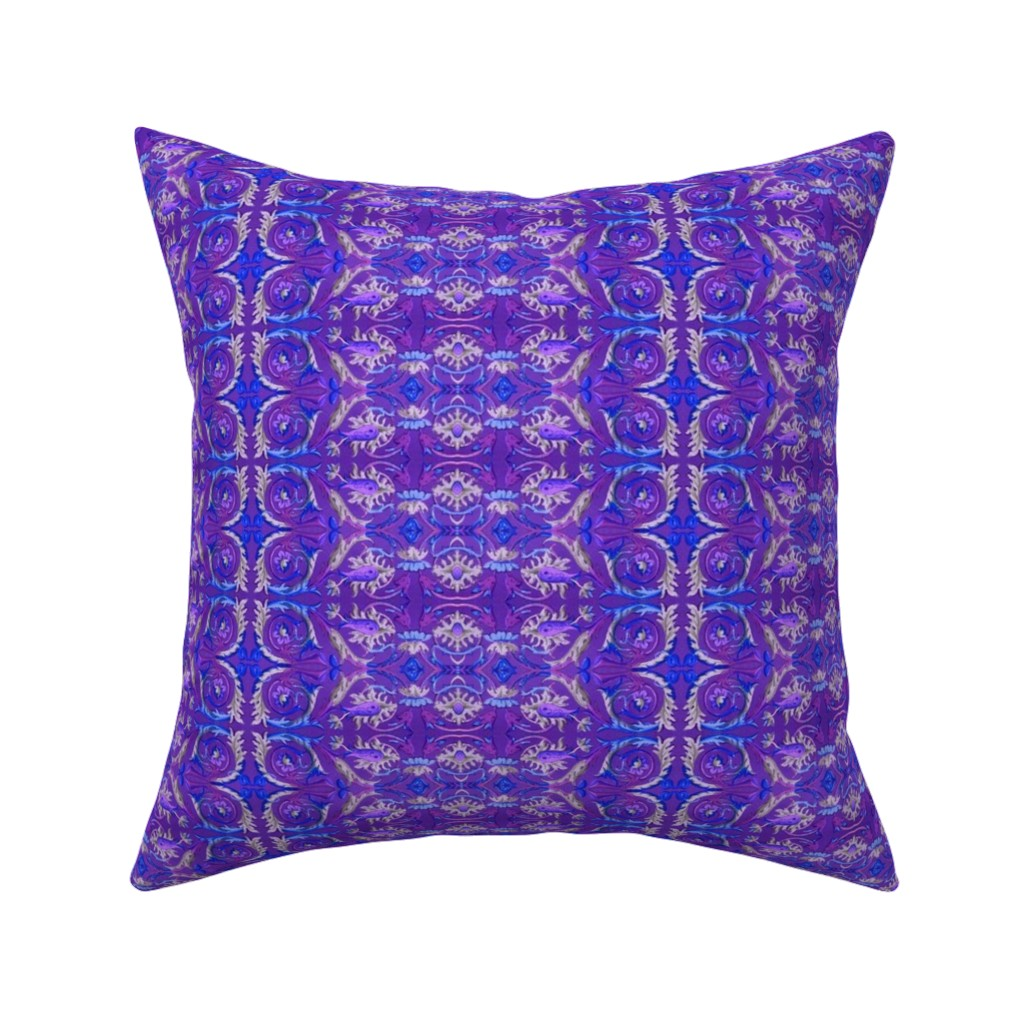Catalan Throw Pillow featuring renaissance 100 by hypersphere