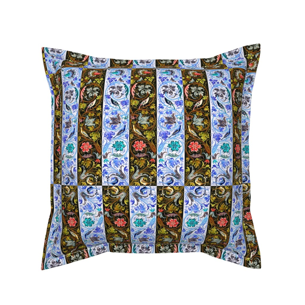 Serama Throw Pillow featuring renaissance 103 by hypersphere