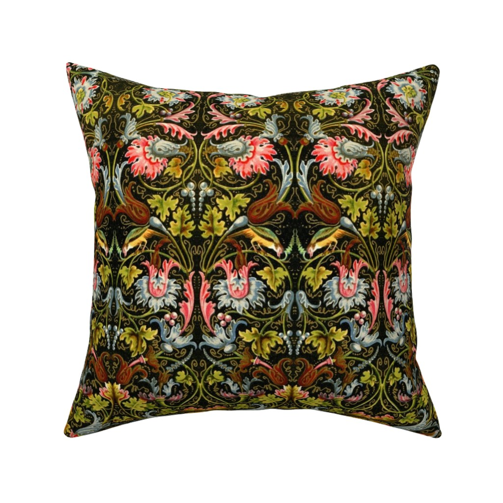 Catalan Throw Pillow featuring renaissance 105 by hypersphere