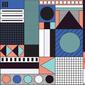 Keypoints via Weimar (Bauhaus/Memphis)