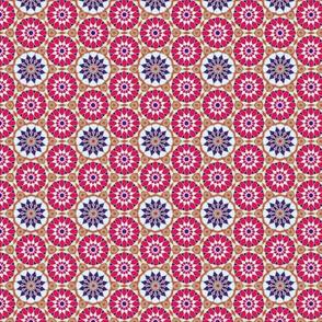 Moroccan Mosaic Pattern by Cveti