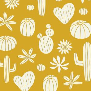 Jumbo Llama cactus mustard
