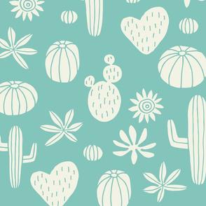 Jumbo Llama Cactus mint