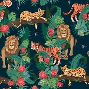 Roarsome Jungle Cats