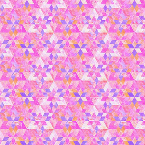 Triangles and Rhomboids Pattern