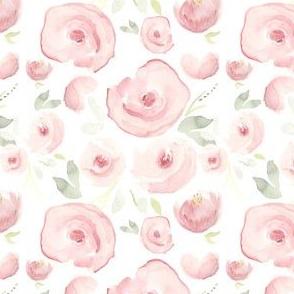 Blush Watercolor Floral