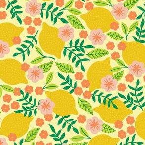 Summer Lemons-Yellow