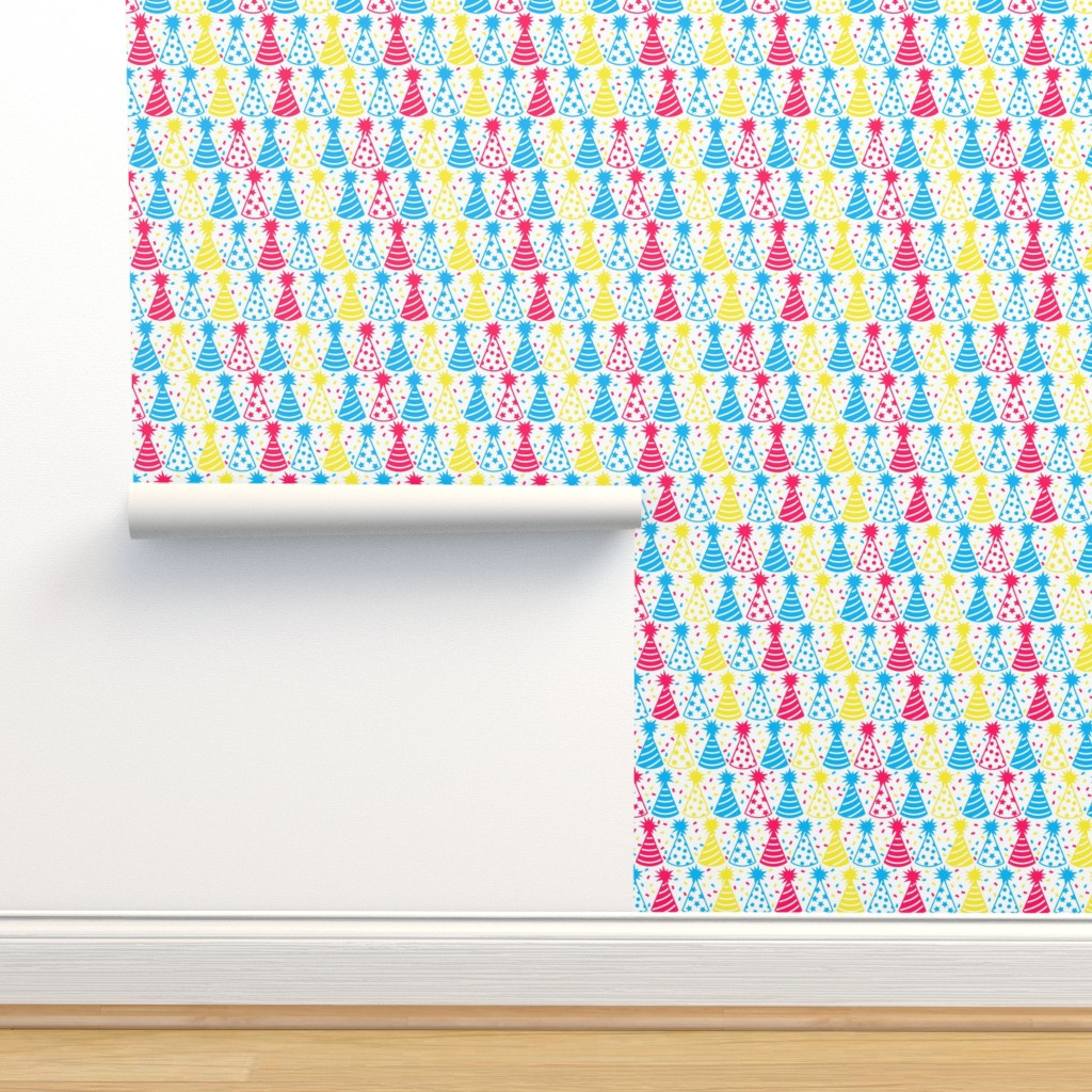 Isobar Durable Wallpaper featuring And Here Is Your Party Hat (Primary) by robyriker