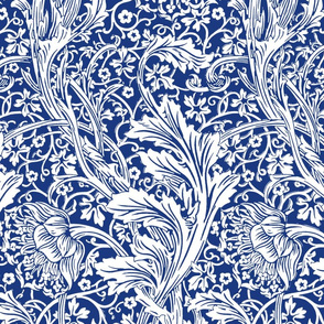 Arcadia ~ Willow Ware Blue and White ~ William Morris