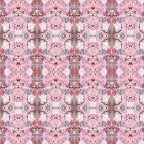 Flower of Life Paint Blue Pink