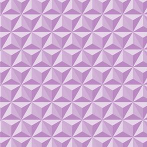 Hexidadnt purple_spaceship Earth (epcot)