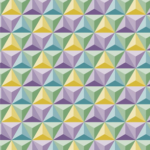 Hex Green purple yellow (epcot)