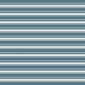 Slate Blue Stripes