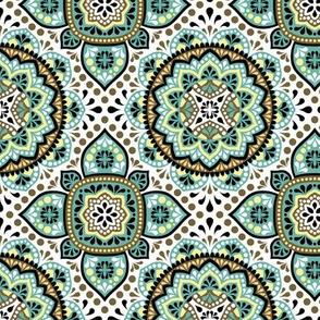 Arabian ornamental pattern