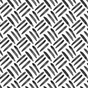 Black white neutral home decor basket weave