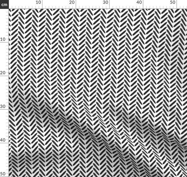 Graphic Watercolor Herringbo Spoonflower