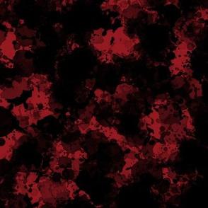 Ink Splatters on Red