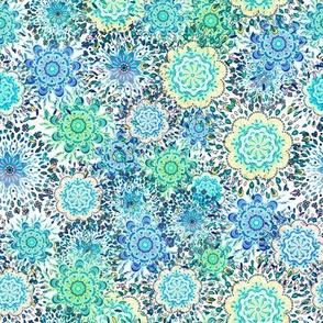 Mandala Pattern Tile