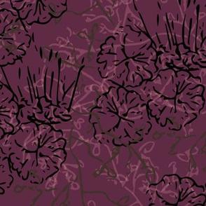 Fancy Foliage - Purple