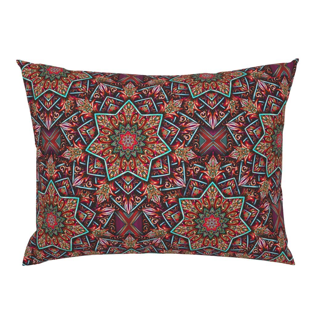 Campine Pillow Sham featuring Marrakesh Renaissance  by beesocks