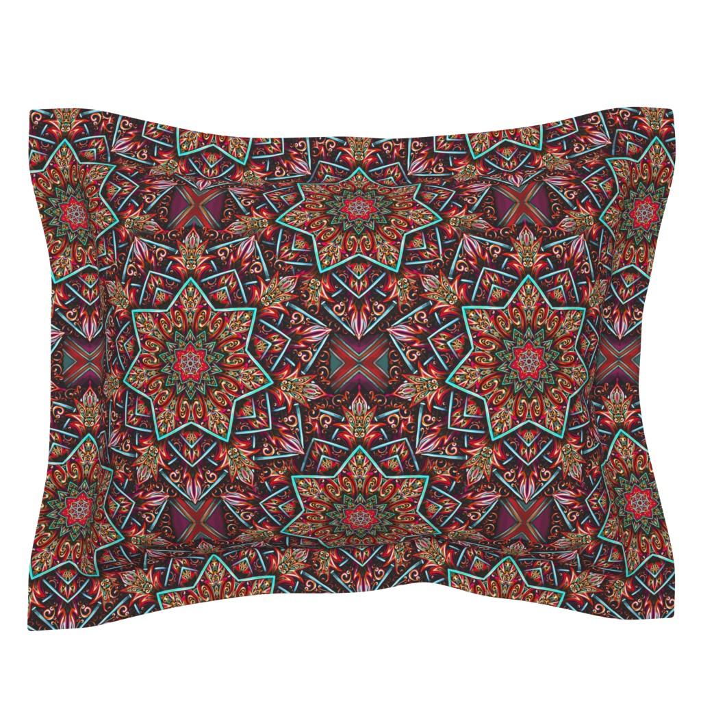 Sebright Pillow Sham featuring Marrakesh Renaissance  by beesocks