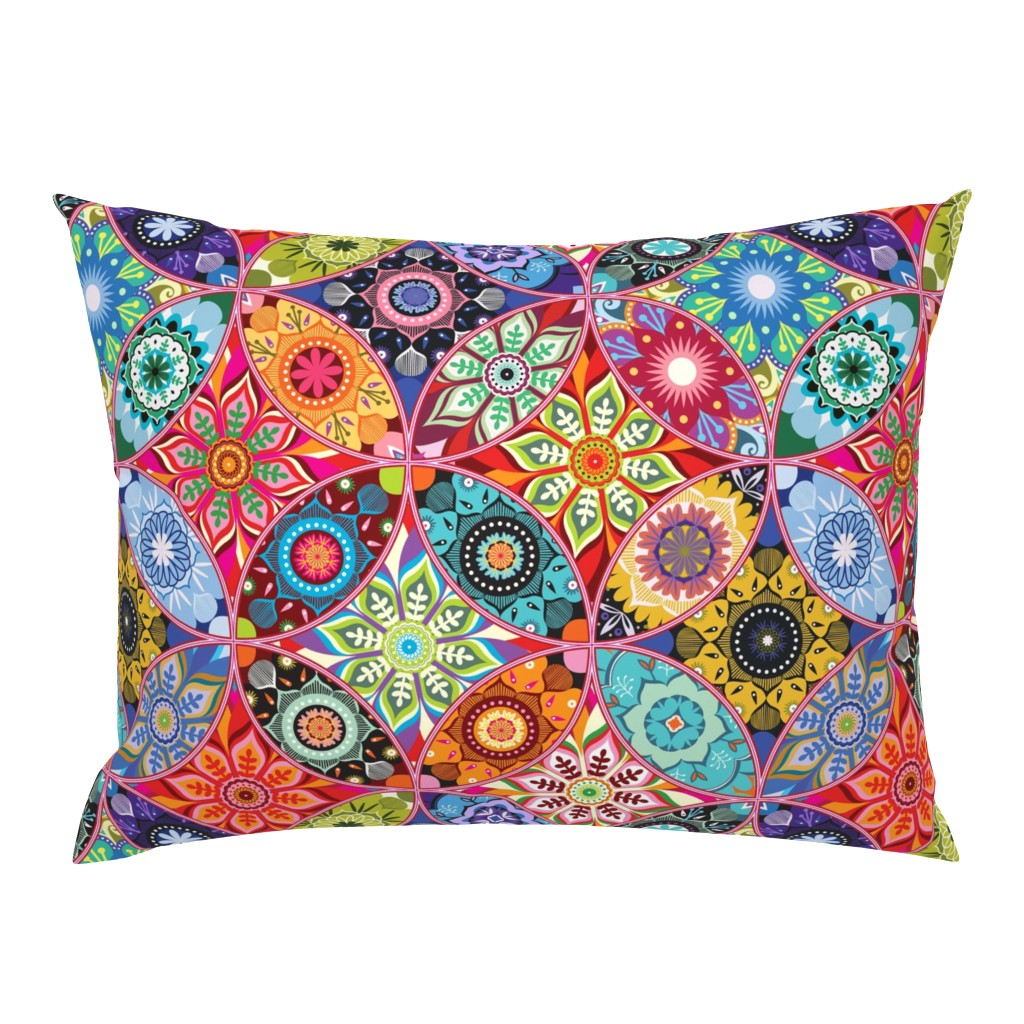 Campine Pillow Sham featuring Moroccan bazaar by camcreative