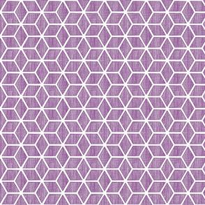 Japanese textures - diamond blocks purple white medium