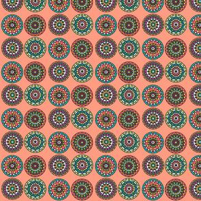 Coral multi mandala