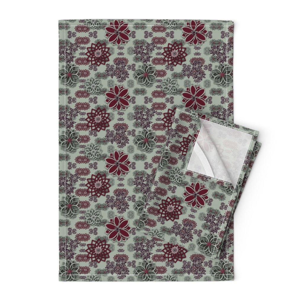 Orpington Tea Towels featuring Home for the Holidays by gargoylesentry