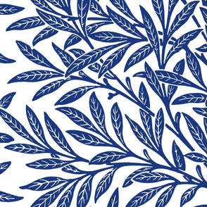 Willow ~ Willow Ware Blue and White ~ William Morris