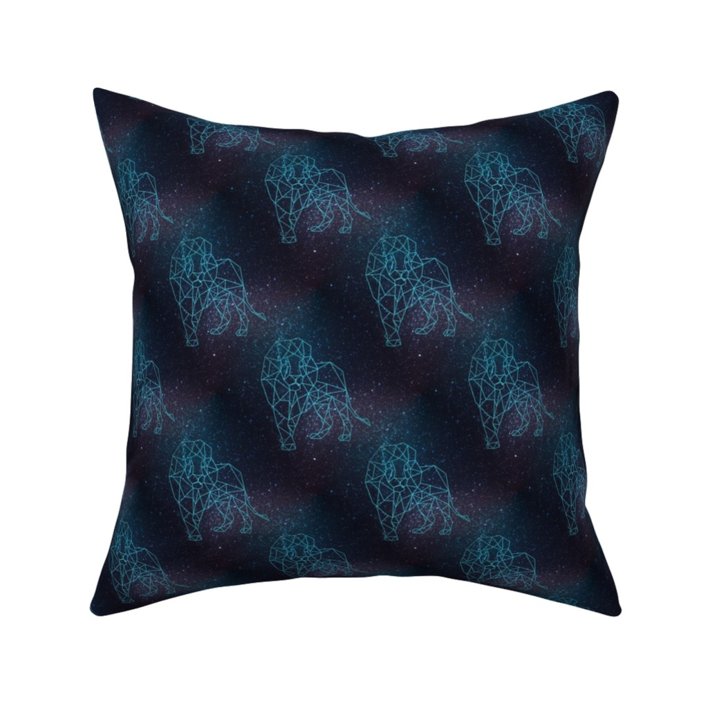 Catalan Throw Pillow featuring Leo by elizabethmay
