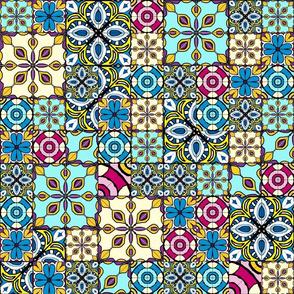 Marrakesh tile quilt