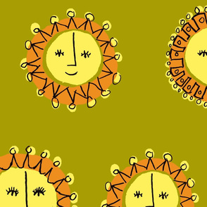 Smiling Suns, Yellow Green