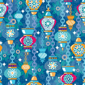 Midnight Marrakesh Lanterns