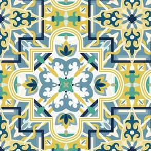Marrakech Mosaic - Green