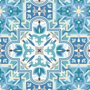 Marrakech Mosaic - Light Blue