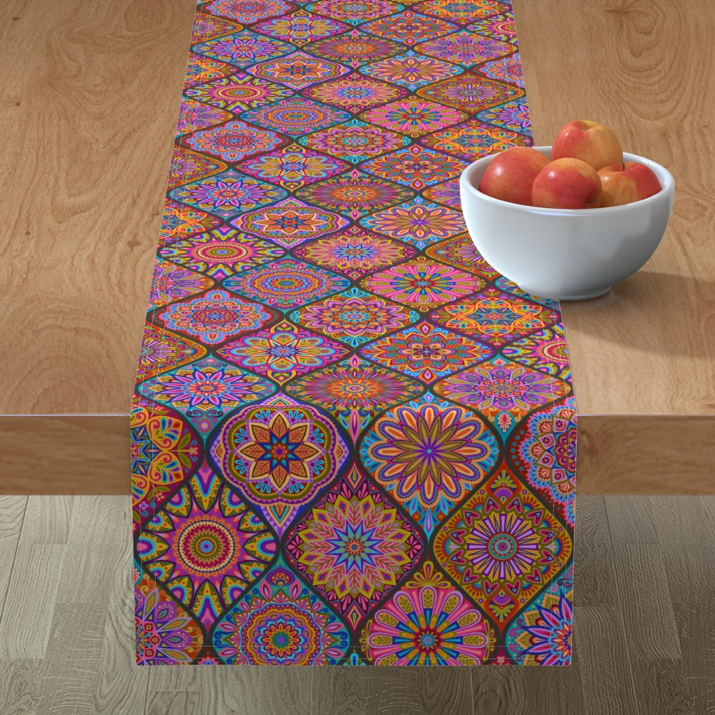 Minorca Table Runner featuring  The Marrakesh Express by groovity