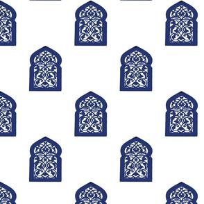 Marrakesh Majorelle Window