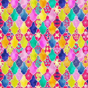Marrakesh Floral Tiles
